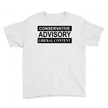 Conservative Advisory Youth Tee Designed By Monstore