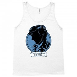consulting detective navy Tank Top | Artistshot