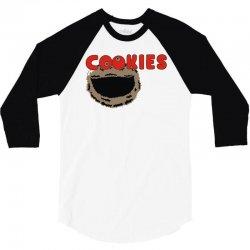 cookies 3/4 Sleeve Shirt | Artistshot