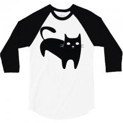 cool black 3/4 Sleeve Shirt   Artistshot