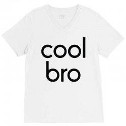 cool bro V-Neck Tee | Artistshot