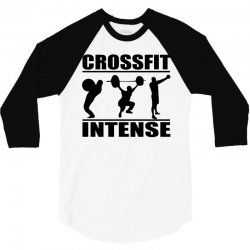cool crossfit intense 3/4 Sleeve Shirt | Artistshot