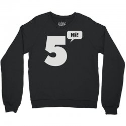 cool hi five Crewneck Sweatshirt | Artistshot