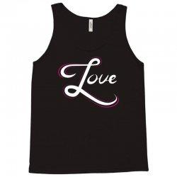 cool love hand lettering t shirt Tank Top | Artistshot