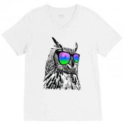 cool owl V-Neck Tee | Artistshot