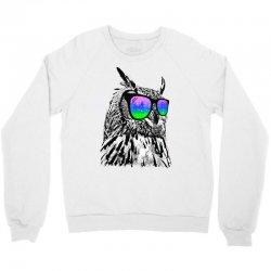 cool owl Crewneck Sweatshirt | Artistshot