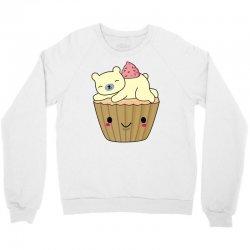 cool polar bear cupcake t shirt Crewneck Sweatshirt | Artistshot