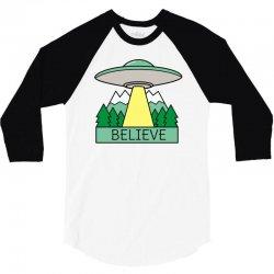 cool ufo sci fi t shirt 3/4 Sleeve Shirt | Artistshot
