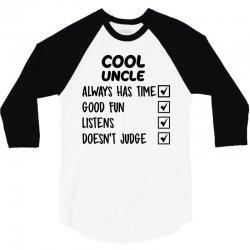 cool uncle 3/4 Sleeve Shirt | Artistshot