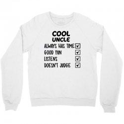 cool uncle Crewneck Sweatshirt | Artistshot
