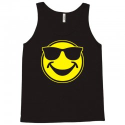 cool yellow smiley bro with sunglasses Tank Top | Artistshot