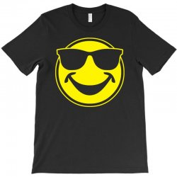 cool yellow smiley bro with sunglasses T-Shirt | Artistshot