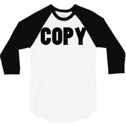 copy 3/4 Sleeve Shirt   Artistshot