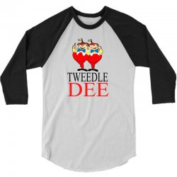 Tweedle Dee 3/4 Sleeve Shirt | Artistshot
