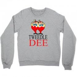 Tweedle Dee Crewneck Sweatshirt | Artistshot