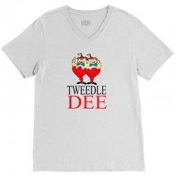 Tweedle Dee V-Neck Tee | Artistshot