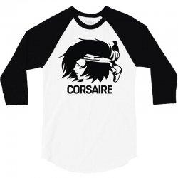 corsaire v2 3/4 Sleeve Shirt   Artistshot
