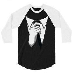 costume suit up 3/4 Sleeve Shirt | Artistshot