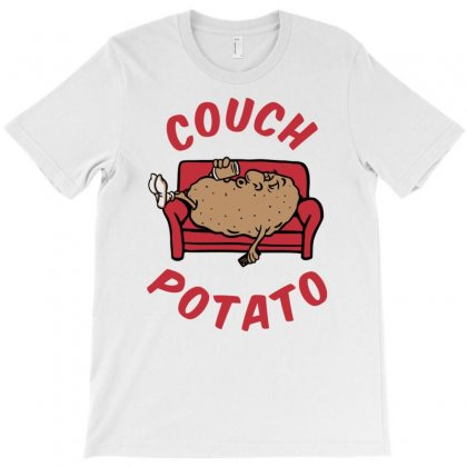 Couch Potato T-shirt Designed By Monstore