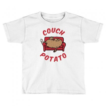 Couch Potato Toddler T-shirt Designed By Monstore
