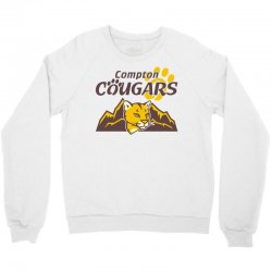 cougar mascot and mountain Crewneck Sweatshirt | Artistshot