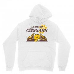 cougar mascot and mountain Unisex Hoodie | Artistshot