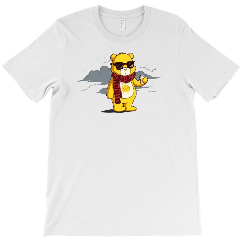 Couldn't Care Less Bear T-shirt | Artistshot