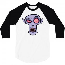 count dracula 3/4 Sleeve Shirt   Artistshot