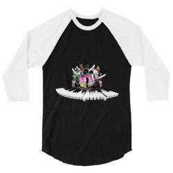 Musical instruments, 3/4 Sleeve Shirt   Artistshot