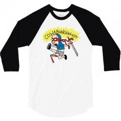 cowabungholio 3/4 Sleeve Shirt   Artistshot