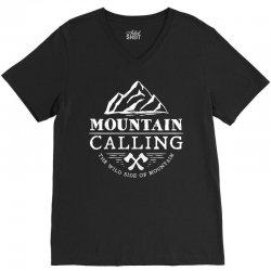 Mountain Calling The Wild Side Of Mountain V-Neck Tee | Artistshot