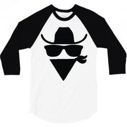 cowboy 3/4 Sleeve Shirt | Artistshot