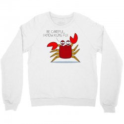 crab fu Crewneck Sweatshirt | Artistshot