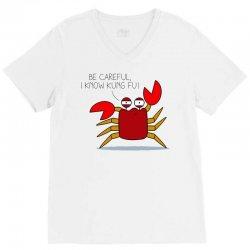 crab fu V-Neck Tee | Artistshot