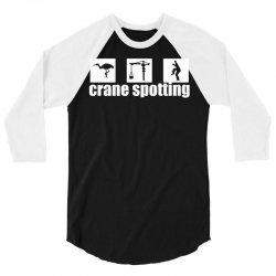 cranespotting 3/4 Sleeve Shirt   Artistshot