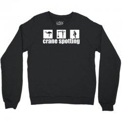 cranespotting Crewneck Sweatshirt   Artistshot