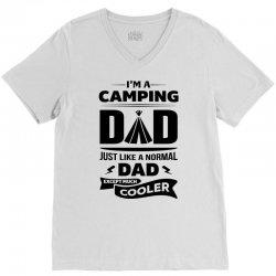 I'm a Camping Dad.... V-Neck Tee | Artistshot