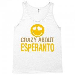 crazy about esperanto Tank Top | Artistshot