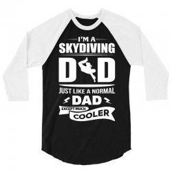 I'm a Skydiving Dad.... 3/4 Sleeve Shirt   Artistshot