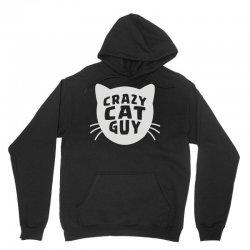 crazy cat guy Unisex Hoodie | Artistshot