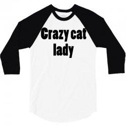 crazy cat lady (5) 3/4 Sleeve Shirt | Artistshot