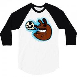 crazy doggy 3/4 Sleeve Shirt   Artistshot