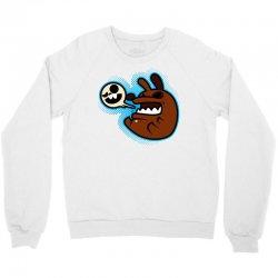 crazy doggy Crewneck Sweatshirt   Artistshot