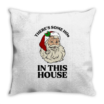 There's Some Hos In This House  T Shirt Throw Pillow Designed By Animestars