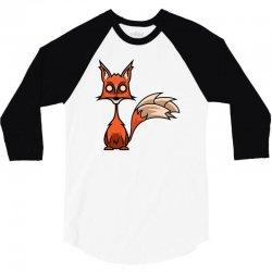 crazy fox 3/4 Sleeve Shirt | Artistshot