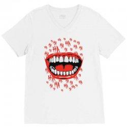 crazy laughter V-Neck Tee | Artistshot