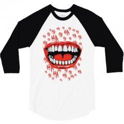 crazy laughter 3/4 Sleeve Shirt | Artistshot