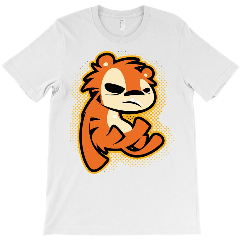 Crazy Tigger T-shirt   Artistshot