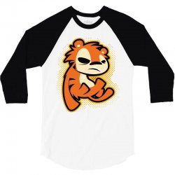 crazy tigger 3/4 Sleeve Shirt   Artistshot