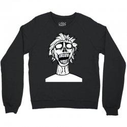 crazy zombie Crewneck Sweatshirt | Artistshot